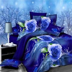 Modern/Contemporary Polyester Comforters (4pcs :1 Duvet Cover 1 Flat Sheet 2 Shams)