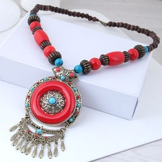Fashional Alloy Resin Women's Fashion Necklace
