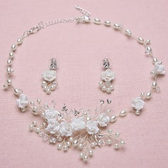 Beautiful Alloy/Rhinestones/Crystal With Rhinestone/Crystal Ladies' Jewelry Sets (011110870)