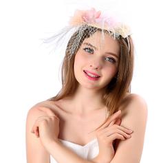 Ladies ' Smukke/Gorgeous/Efterspurgte/Særlige Linned med Blomst Fascinators