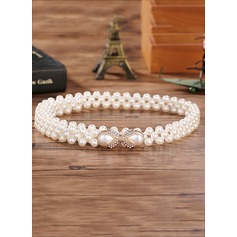 Gorgeous Imitation Pearls Belt (015102731)