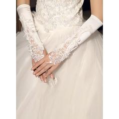 Elasthan Opera Länge Braut Handschuhe