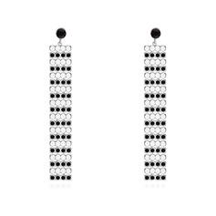 Shining Alloy Rhinestones With Rhinestone Women's Fashion Earrings