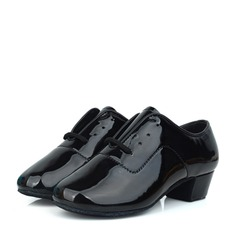 Kids' Patent Leather Practice Dance Shoes