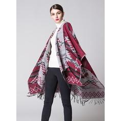 Akryl Mode Sjal