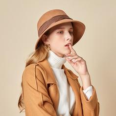 Señoras' Hermoso/Simple/Pretty Madera Bombín / cloché Sombrero