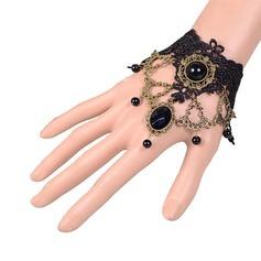 восхитительно сплав кружева Женщины Модные браслеты
