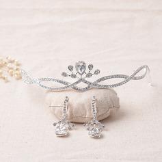 Bonito Liga/Strass Senhoras Conjuntos de jóias