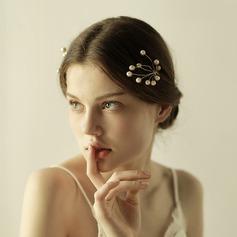 Élégante Alliage/De faux pearl épingles à cheveux (Vendu dans une seule pièce)