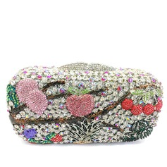 Colorful Crystal/ Rhinestone/Alloy Clutches/Luxury Clutches
