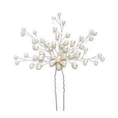 Damer Nydelig Imitert Perle Hårnåler med Venetianske Perle (Selges i ett stykke)