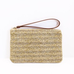 Delicate Straw Wallets & Accessories