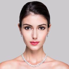 Classic Zircon Senhoras Conjuntos de jóias