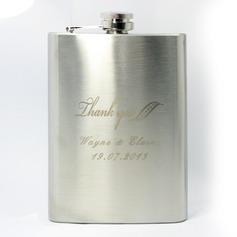 "Personalized ""Thank You"" Stainless Steel 224ml(8-oz)"