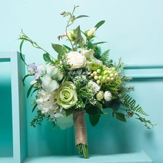 Free-Form Silk/Cloth Bridal Bouquets/Bridesmaid Bouquets -