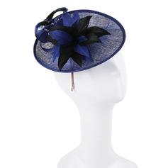 Dames Simple/Gentil/Jolie Batiste Chapeaux de type fascinator