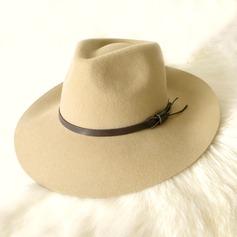 Senhoras Lindo Verão/Inverno Lã com Chapéu de Coco / Cloche de Chapéu