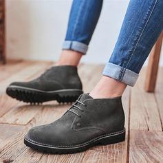Hombres Ante Chukka Casual Zapatos Oxford de caballero