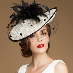 Ladies' Beautiful/Glamourous/Elegant/Eye-catching Cambric Fascinators (196211881)