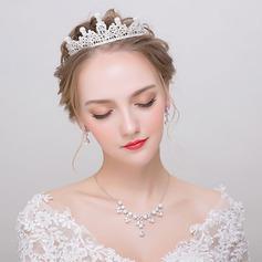 Magnifique Alliage/Strass/De faux pearl Dames Parures