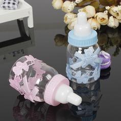 Klassische Art/Schön Flasche geformt Kunststoff Süßigkeiten Gläser und Flaschen (Satz von 12)