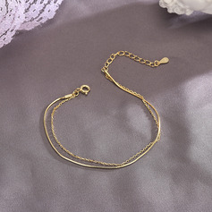 Anti-oxidatie Armbandverlenger Schakelketting Chain armbanden -