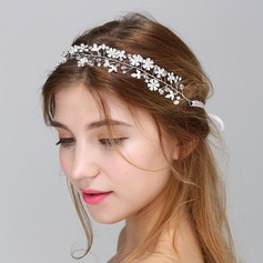 Hermoso Crystal/Perla Diademas