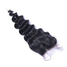 """4""""*4"""" 4A Nicht remy Lose Menschliches Haar Bedeckung (Einzelstück verkauft) 50g"""