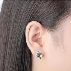 Encanto Aleación/Crystal con Crystal Pendientes