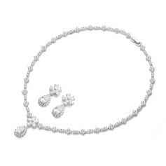 Charming Zircon Ladies' Jewelry Sets