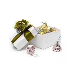 Florale Conception Cuboïd Boîtes cadeaux avec Fleurs (Lot de 12)