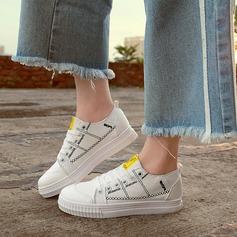 Kvinner Jean Flat Hæl Flate sko med Blondér sko