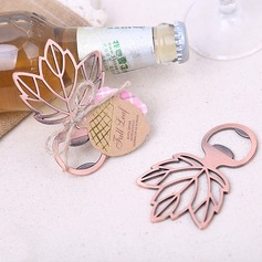Non-Personalized Leaf Shape Bottle Openers