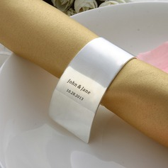 Personalized Zinc Alloy Napkin Rings (118030920)