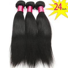 24 inch 8A Grade Brazilian Straight Virgin human Hair weft(1 Bundle 100g)