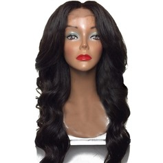 5A Neitsyt/Remy Loose Wavy Ihmiskarva Lace Front Peruukit 260g (219145698)