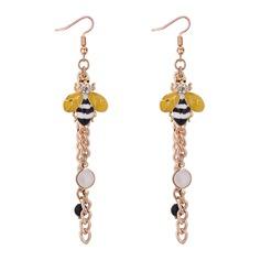 Nizza Legierung Strasssteine Faux-Perlen mit Nachahmungen von Perlen Strass Frauen Art-Ohrringe