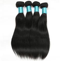 4A Nicht remy Gerade Menschliches Haar Geflecht aus Menschenhaar (Einzelstück verkauft) 100g