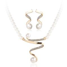 Hermoso Aleación/La perla de faux Señoras' Sistemas de la joyería