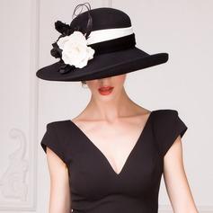 Dames Accrocheur Coton Chapeau melon / Chapeau cloche/Chapeaux Tea Party (196075465)
