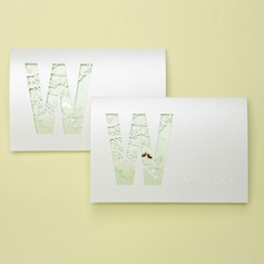 винтажном стиле Tri-Fold Invitation Cards (набор из 50)