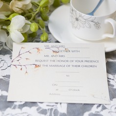 moderne stil Flat Card Invitation Cards (Sett Av 50)