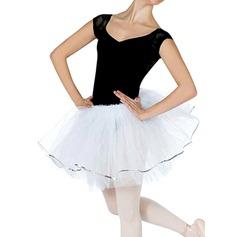 Donna Abbigliamento danza Poliestere Balletto Prova Gonne