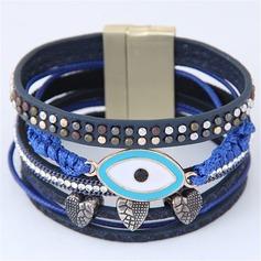 Mode Legering Konstläder Damer' Mode Armband