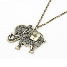 Holy Elephant Alloy Ladies' Fashion Necklace