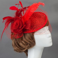 Gorgeous Cotton Fascinators/Flowers & Feathers