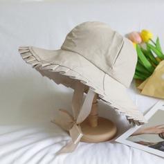 Ladies ' Dejligt/Særlige/Glamourøse Polyester Diskette Hat