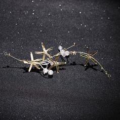 Damen Hübsche Legierung/Faux-Perlen Stirnbänder