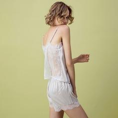 Satén Nupcial/Femenino Pijama conjunto