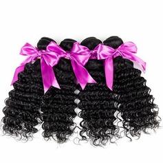 5A Virgin / remy Frisé les cheveux humains Tissage en cheveux humains (Vendu en une seule pièce) 100 g